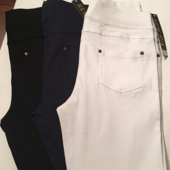 3603a0d2c7cf Elegant Apparel Group Pants   Womens Slimming Skinny 3 Pack   Poshmark